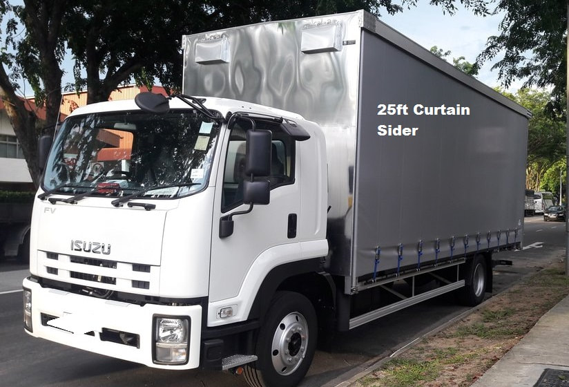 Rent Cargo Van and Driver in Singapore - LORRY RENTAL WITH